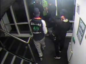 Two separate incidents in Nottingham caught on CCTV